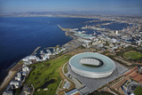 Aerial of Cape Town Stadium  Cape Town  South Africa