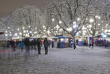 Munsterplatz Winter Holiday Market  Basel  Switzerland