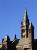 Canadian Parliament  Parliament Hill  Ottawa  Ontario  Canada