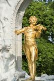 Johann Strauss Monument  Vienna  Austria