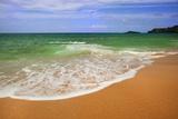 Scenic of Secret Beach  Kauai  Hawaii  USA