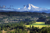 Mount Hood  Jonsrud Viewpoint  Sandy  Oregon  USA