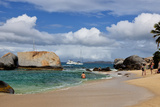 The Baths on Virgin Gorda  British Virgin Islands