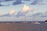 Sailboat in Gorda Sound  British Virgin Islands
