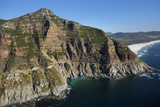 Aerial View of Chapman's Peak Drive  Cape Town  South Africa