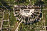 Aerial View of Aphrodisias  Aydin  Turkey