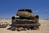 Derelict Truck Near Fish River Canyon  Southern Namibia
