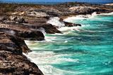 Ocean View from Warderick Cay  Day Land and Sea Park  Exuma  Bahamas
