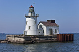 Cleveland West Pierhead Lighthouse  Ohio  USA