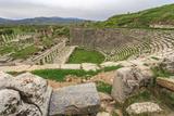 Amphitheater in Aphrodisias  Aydin  Turkey