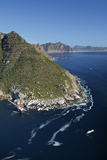 Aerial of Bos 400 Shipwreck  Duiker Point  Cape Town  South Africa