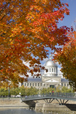 Silver Dome of Bonsecours Market  Montreal  Quebec  Canada