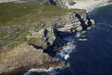 Aerial of Cape of Good Hope  Cape Peninsula  Cape Town  South Africa