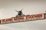 Entrance  Oklahoma National Stockyards  Oklahoma City  Oklahoma  USA