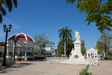 Jose Marti Square and Statue in Center of Town  Cienfuegos  Cuba