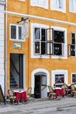 Street Scenes from Nyhavn  Copenhagen  Sjaelland  Denmark
