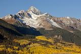 Wilson Peak on an Autumn Morning  San Juan Mountains  Colorado  USA
