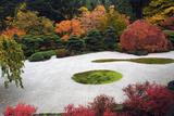 Autumn in the Portland Japanese Garden  Portland  Oregon  USA