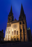 Chartres Cathedral  Chartres  Eure Et Loir  France