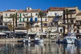 Yacht Harbor at Dawn  Port De Plaissance  Calvi  Corsica  France