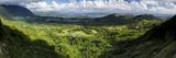 View from Nuuanu Pali State Wayside Viewpoint  Oahu  Hawaii  USA