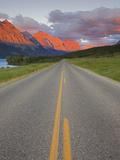 Going-To-The-Sun Road  Glacier National Park  Montana  USA