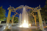Rotary Fountain  Riverfront Park  Spokane  Washington  USA