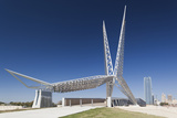 Skydance Footbridge over Highway I-40  Oklahoma City  Oklahoma  USA