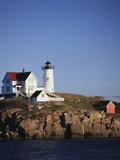 Lighthouse  York  Maine  USA