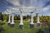 Rose Garden  Manito Park  Spokane  Washington  USA
