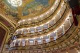 Manaus Opera House Ballroom  Ceiling and Balcony  Amazon  Brazil