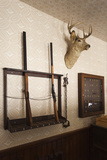 Police Station Gun Rack  Old Cowtown Museum  Wichita  Kansas  USA