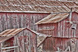 View of Old  Weathered Barn  Cambria  California  USA