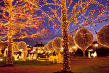 Christmas Décor and Lights  Opryland Hotel  Nashville  Tennessee  USA
