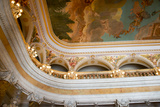 Manaus Opera House Ballroom  Ornate Ceiling Detail  Amazon  Brazil