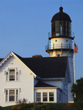 Cape Elizabeth Lighthouse  Portland  Maine  USA