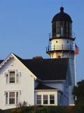 Cape Elizabeth Lighthouse  Portland  Maine  USA