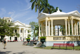 Gazebo in Center of Downtown  Santa Clara  Cuba