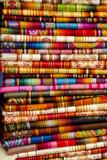 Textile Blankets  Otavalo Handicraft Market  Quito  Ecuador