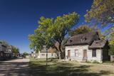 Old Cowtown Museum  Village from 1865-1880  Wichita  Kansas  USA