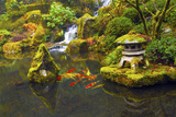 Portland Japanese Garden  Portland  Oregon  USA