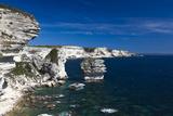 Falaises Cliffs Towards Capo Pertusato  Bonifacio  Corsica  France