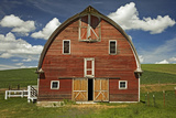 Whitman County  Palouse  Barn  Washington  USA
