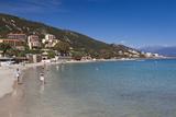 Town Beach  Scudo  Ajaccio  Corsica  France