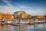 Sunset Light on National Harbor  Prince Georges County  Maryland  USA