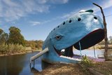 The Blue Whale  Route 66 Roadside Attraction  Catoosa  Oklahoma  USA