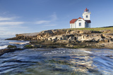 View of Patos Island Lighthouse  San Juan Islands  Washington  USA