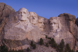 Mount Rushmore National Memorial at Dawn  Keystone  South Dakota  USA
