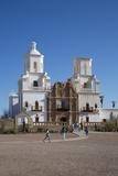 San Xavier Del Bac Mission  Tucson  Arizona  USA
