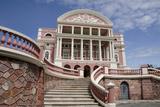 Historic Manaus Opera House  Manaus  Amazon  Brazil